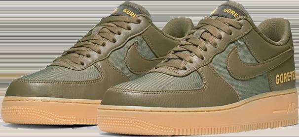 3. Nike Air Force 1 GORE-TEX - Groen