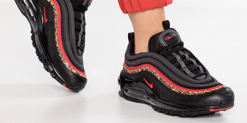 Nike Air Max 97 - Black / red