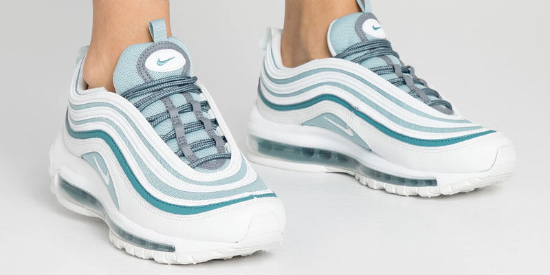 Nike Air Max 97 Sneakers Ocean CubeSummit WhiteCool Grey