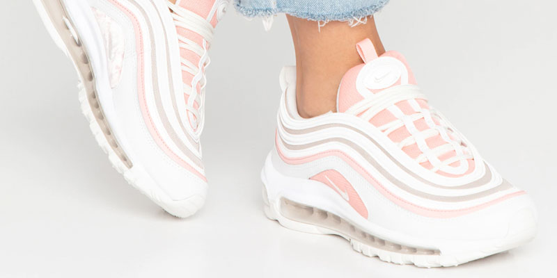 Nike Air Max 97 - Summit white / bleached coral / desert sand / white