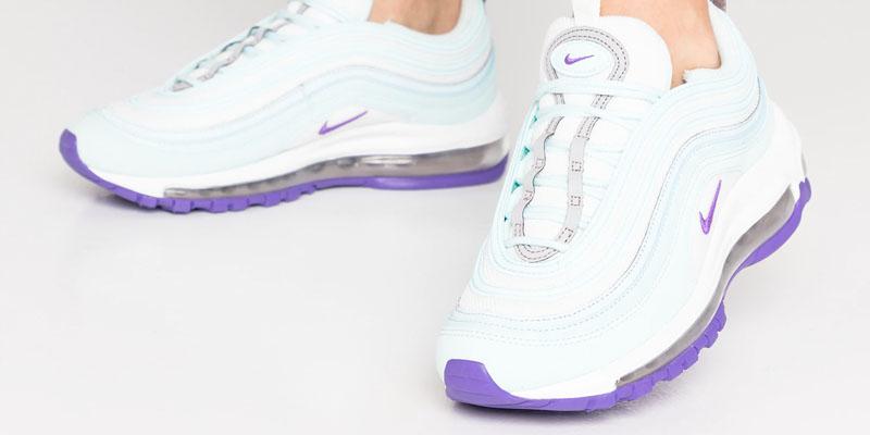 Nike Air Max 97 - Teal tint / summit white / pumice / hyper grape